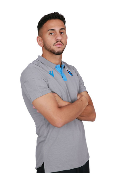 BİLCEE - Trabzonspor Gri Antrenman Polo T-shirt TS-6178